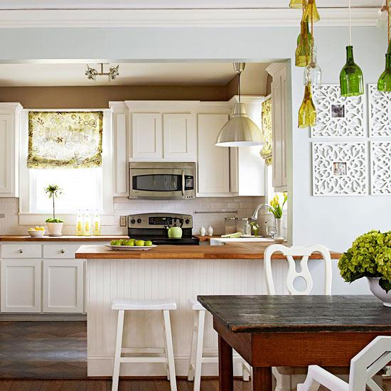 краска на кухне - бюджетный ремонт кухни