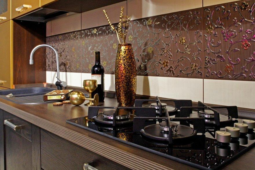 фартук на кухне -бюджетный ремонт кухни