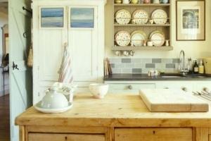 кухня кантри из искусственных материалов
