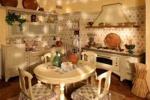стены на кухни кантри
