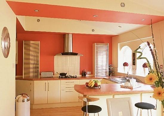 как подобрать обои для кухни по цвету