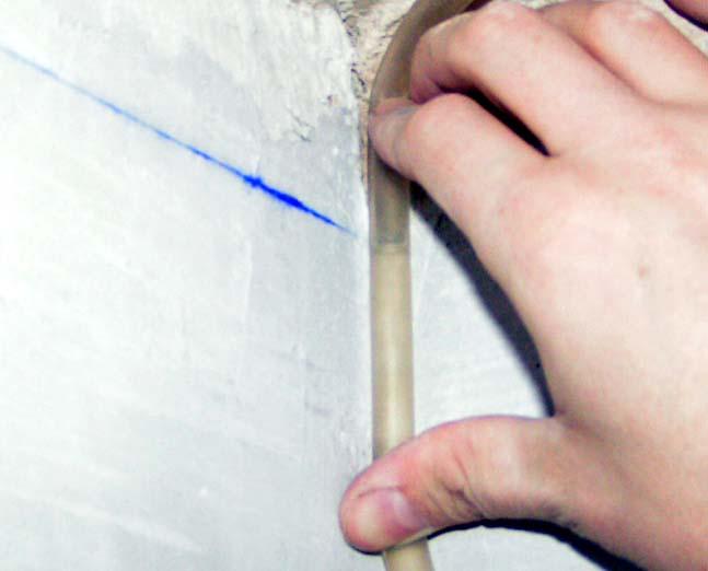 Определение неровности потолка