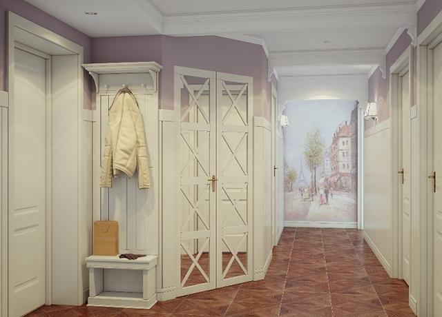 пол в коридоре