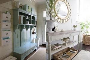 очень красивая мебель в коридоре