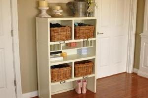 шкаф в стиле прованс для коридора