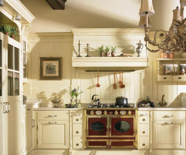 светильники на кухне прованс
