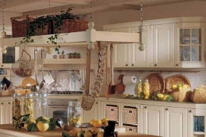 шкафы кухни в прованс стиле