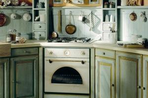 плита на кухне прованс 3