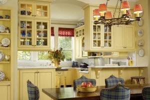 светильники на кухне прованс 2