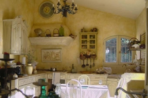 стены кухни в стиле прованс