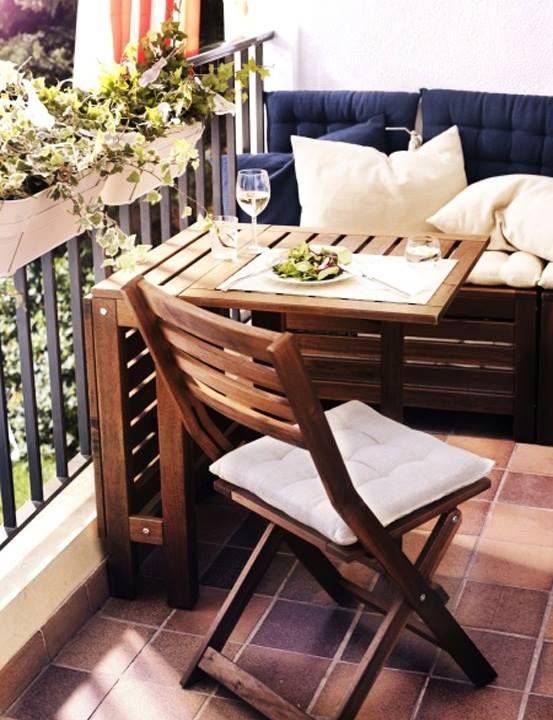 складная мебель на балконе 2