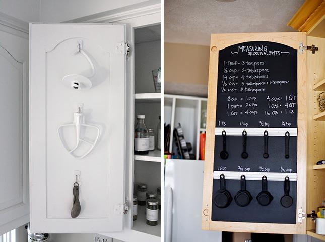 кухонный шкаф для мелочей. лайфхаки для кухни