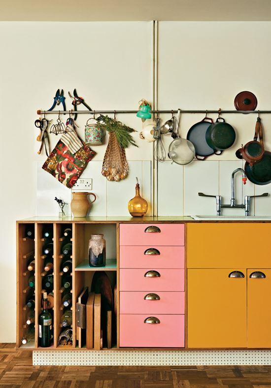 подвесная планка на кухне. лайфхаки для кухни
