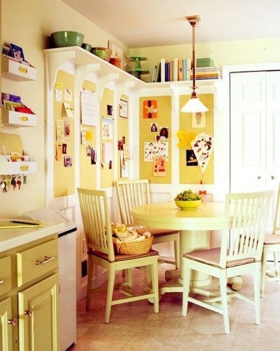 Полки под потолком на кухне. лайфхаки для кухни