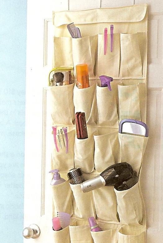 карманты внутри шкафа в ванной 2