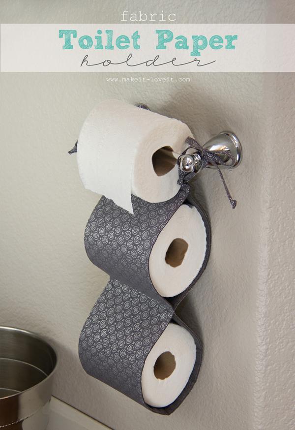 тканевый держатель для туалетной бумаги
