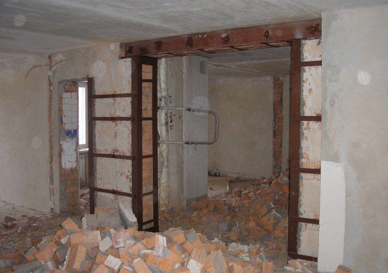 Как определить несущую стену в квартире