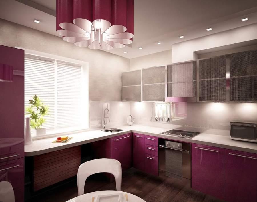 освещение рабочего места на кухне