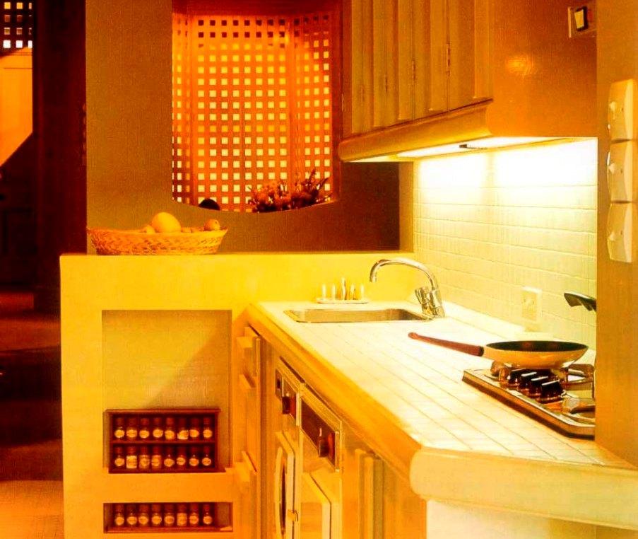 источники света на кухне