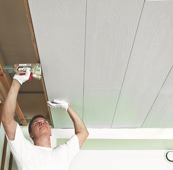 стеновые панели на потолок