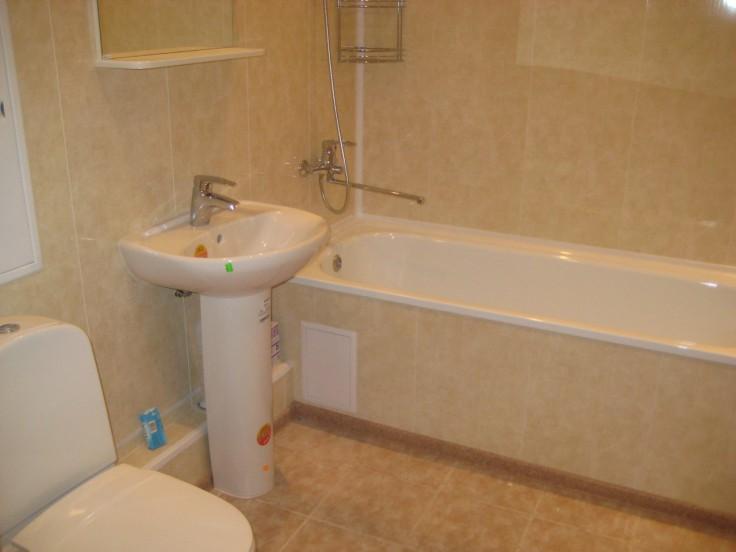 Ремонт ванной комнаты панелями ПВX
