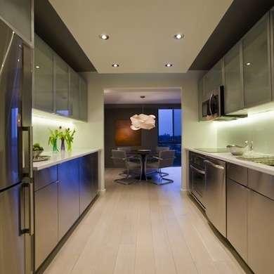 дизайн техники для узкой кухни. дизайн узкой кухни