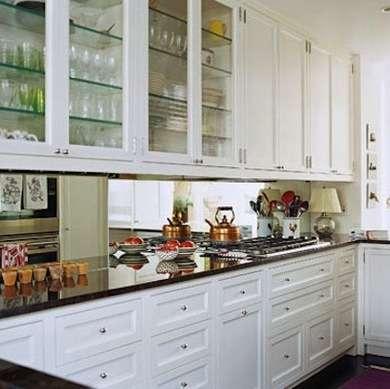 интересный интерьер узкой кухни 2. дизайн узкой кухни