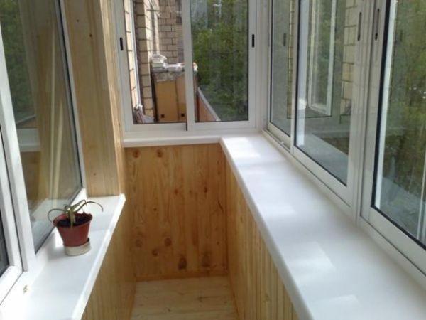 балкон с выносом результат