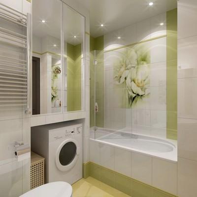 встроенные шкафчики в ванной хрущёвки