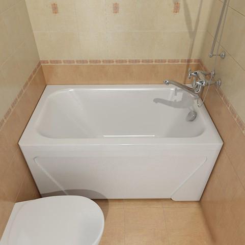 компактная раковина в ванной в хрущёвке