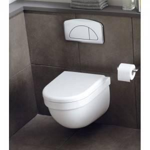 компактный унитаз в ванной в хрущёвке