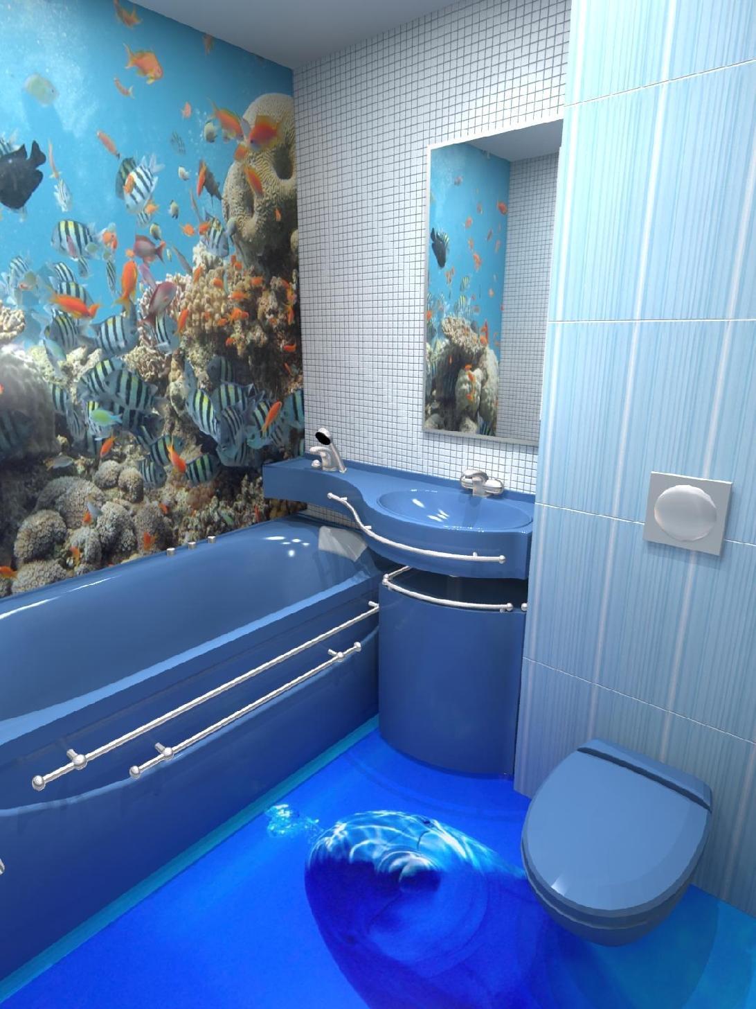 наливной пол ванной в хрущёвке - ремонт ванной комнаты в хрущевке