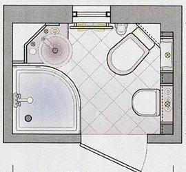 план типичной ванной в хрущёвке - ремонт ванной комнаты в хрущевке