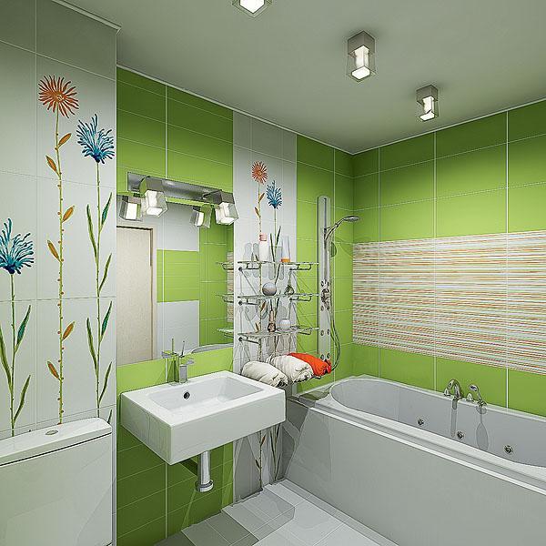 потолок в ванной в хрущёвке