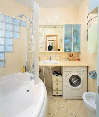 средняя плитка в ванной - ремонт ванной комнаты в хрущевке
